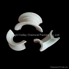 ceramic saddle ring tower packing