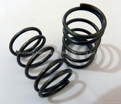 圆柱形螺旋状弹簧