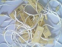 服装塑料吊牌