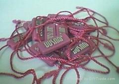 服装塑料吊粒吊牌制品