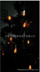 紅外遙控蠟燭閃燈LED
