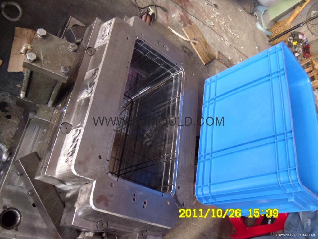 塑料週轉箱模具 2