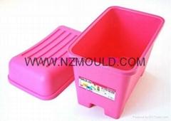 塑料儲物凳模具