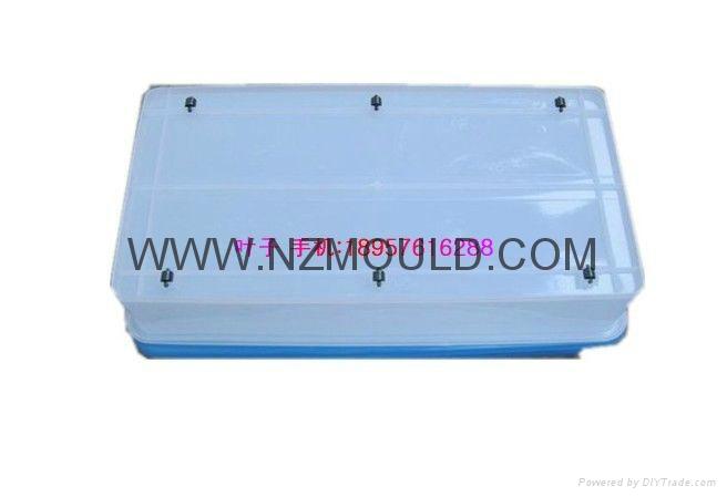 塑料大容量儲物箱模具 1