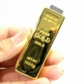 wholesale high quality gold usb flash