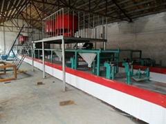山東綠康水泥粉煤灰復合莢芯牆板設備