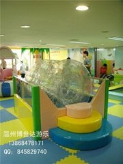 溫州電動淘氣堡水滾筒