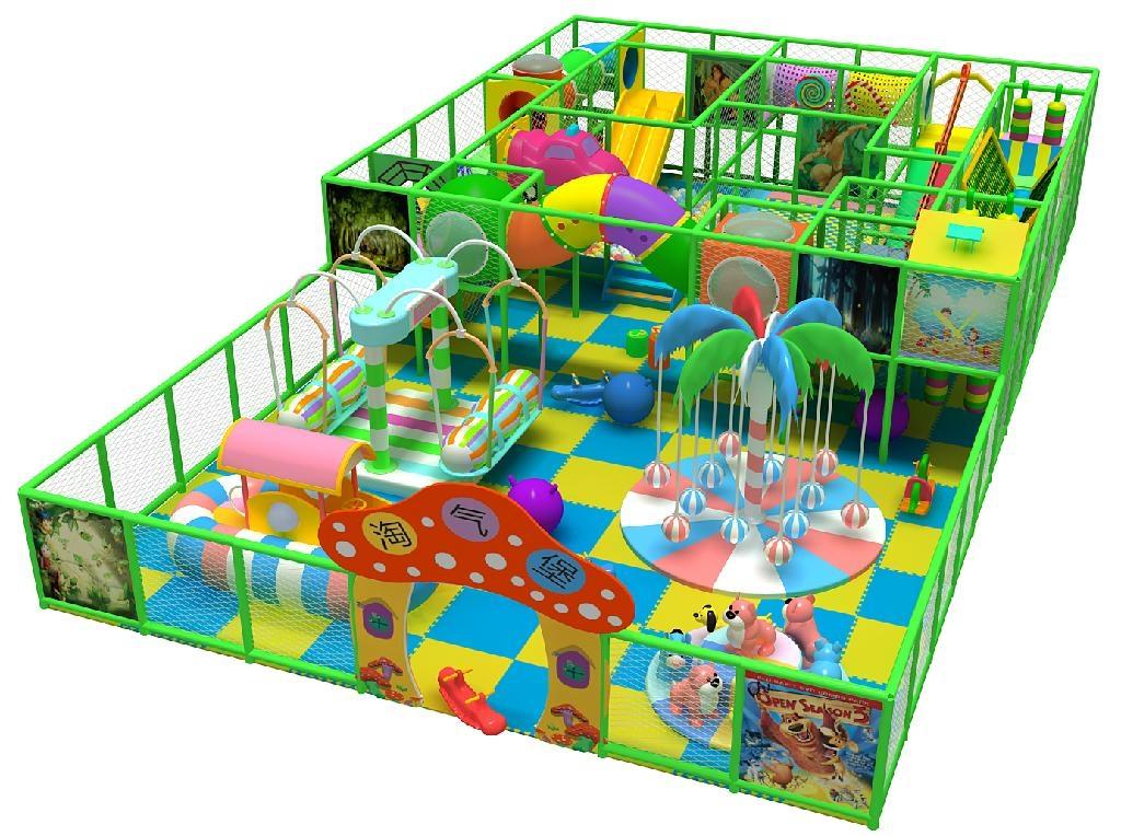 温州博世达新型淘气堡儿童乐园金字塔 3