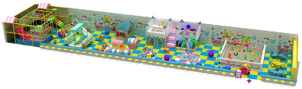 温州博世达新型淘气堡儿童乐园金字塔 4