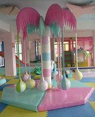 溫州博世達電動淘氣堡椰子樹
