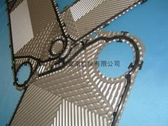 供应APV板式换热器胶垫板片