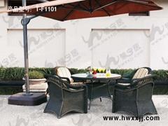 戶外仿藤庭院桌椅T-F1101圖片價格