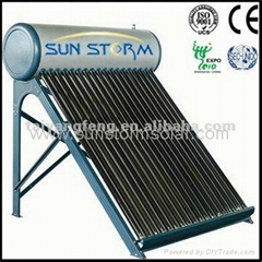High effective evacuated tube solar water heat by CE