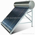 Environmental storm-styled solar water