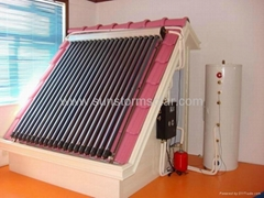OEM possible and ISO9001 and CE split solar water heater