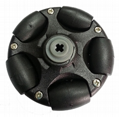 58mm Plastic Omni Wheel for LEGO NXT and Servo Mot