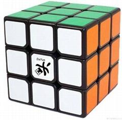 Dayan zhanchi magic cube 5 ZhanChi 3x3x3 Speed Cube Black Magic Cube Puzzle