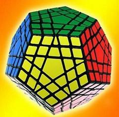 Cube4U (C4U) Gigaminx Speed Cube Black Magic Cube Puzzle