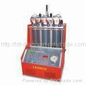 Launch CNC-602A  & tester injector cleaner 1