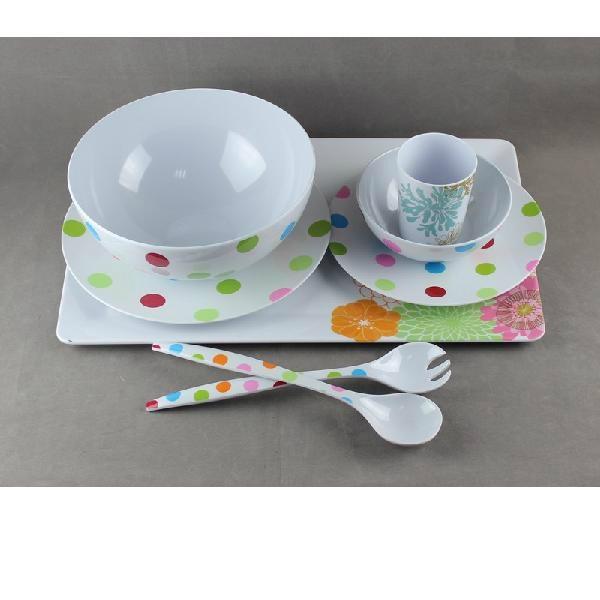 Melamine dinnerware 1