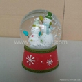 Polyresin Souvenir Water Globe 1