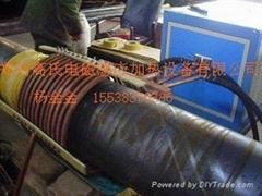 钢管连续淬火退火调质加热生产线