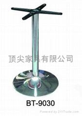 Stainless steel desk foot