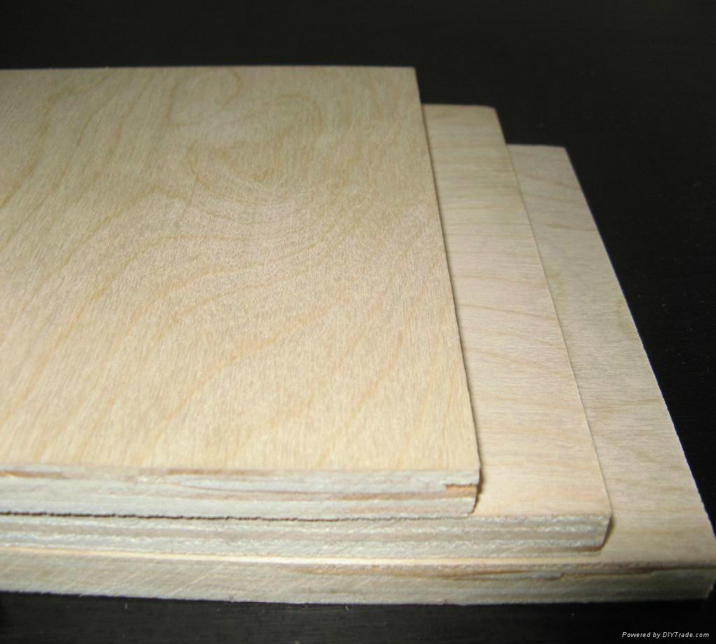 家具级桦木胶合板 1