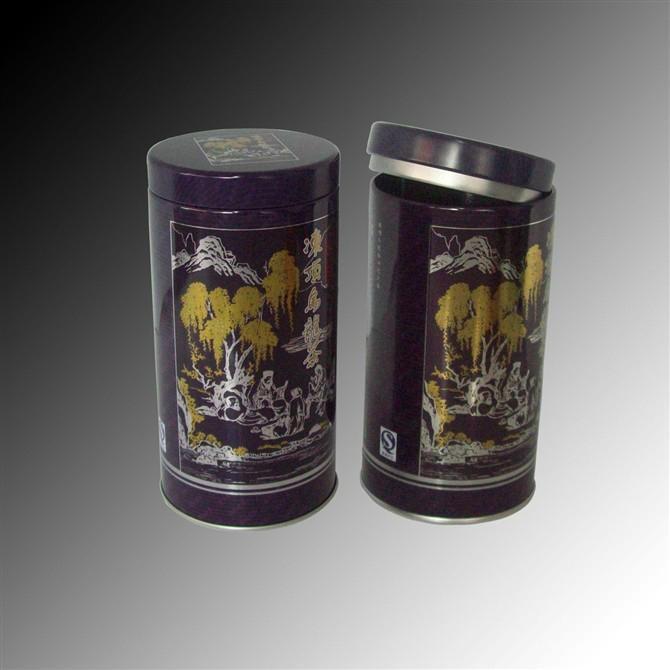 茶葉鐵罐 4