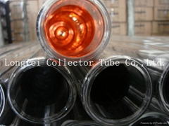 Solar water heater three merits collector tubes