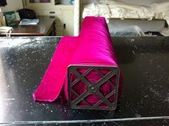 Silk rayon velvet fabric
