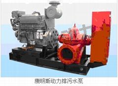 柴油机排污水泵机组