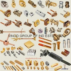 Brass Copper Alloy Electrical, Earthing & Grounding Acesories