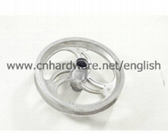 Aluminum alloy steering wheel