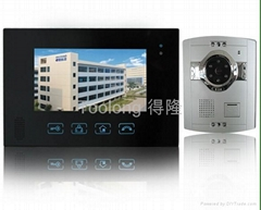 New 7inch Video intercom+ touch screen