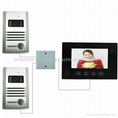Door Acess Control system With 2outdoor