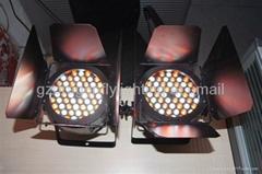 54pcs 3W LED Cast-Alu unwaterproof PAR64 Light with bandoor