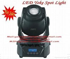 dj led moving yoke light 60W LED Lamp