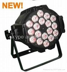 18pcs*15W 5in1 RGBWA LED PAR Light Higher Power LED Lamp for Stage light,led