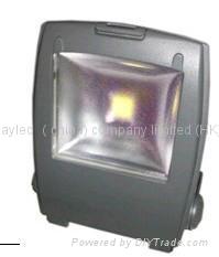 帶紅外感應大角度led氾光燈 1