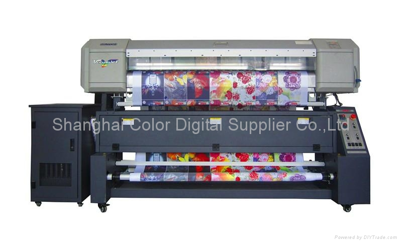 Textile Sublimation Printing Machine - CSR1600 - SAER (China