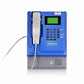 wall-mounted indoor coin  payphone  2
