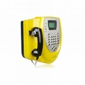 Guanri :Outdoor PSTN kiosk/wall-mounted payphone support card payment   3
