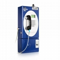 Guanri:  Outdoor GSM coin payphone  2
