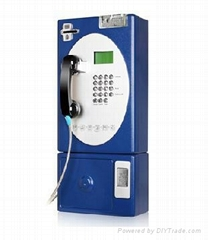 Outdoor Coin/Card Payphone
