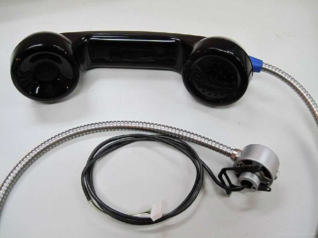 Guanri Spare Parts Handset For Public Payphone Handset