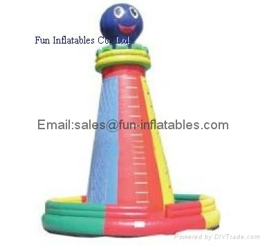 Inflatable climbing wall in various designs 2