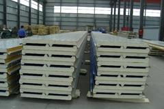 防水型聚氨酯屋面板