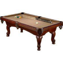 Mizerak PTW Victoria II Foot Billiard Table Pool Tables - Mizerak space saver pool table