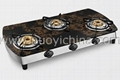 table tempered glass gas cooktops 1